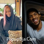 So amazing as DJ Cuppy and Anthony Joshua laugh at each other as they try to speak Yoruba (video)