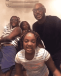 Watch 2Baba grooving with his wife and daughters at home (Video)