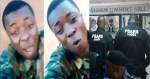 Soldiers dey do yahoo, If you kill Yahoo soldier, you go hear am – Angry soldier blasts SARS officers for killing Yahoo boys (Video)