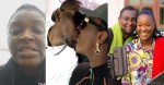 """""""Love is not their mate"""" – Chacha Eke says as she kisses her hubby, Austin (Video)"""