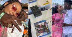 Temi Otedola reacts as her boyfriend, Mr Eazi buys brand new PS5 for his best friend (Video)