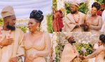 Patoranking and Yemi Alade serve couple goals on set of a music video shoot (Photos)