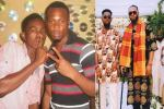 """""""10 years later we made Mon Bébé"""" – Patoranking celebrates 10-year-old friendship with Flavour (Photos)"""