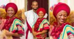 See beautiful photos of Ghanaian bride that did her wedding without makeup and accessories