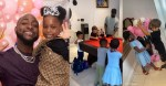"""""""I'm finished today"""" – Davido says as he shows off pictures of what his daughter, Imade, and her gang did to his house"""