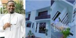 """""""I'm Not Going Anywhere"""" - Zubby Michael Stylishly Shows Off Exterior of Palatial Mansion in Funny (Video)"""