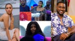 #BBNaija :Epic reaction of the housemates as Ebuka reveals Maria and Pere as the wild cards (Video)