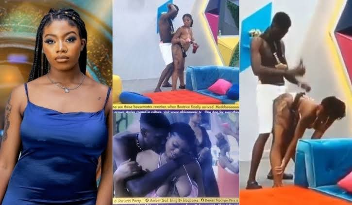 """They want to kill us"""" – Nigerians reacts to All loved-up videos of BBNaija's Angel and Sammie rocking each other aggressively (Video) » Popup9ja"""