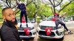 """""""A failure today!!! A winner tomorrow"""" – BBNaija star, Tochi writes as he acquires a new Toyota Hilux days after being labelled a 'failure'(Video)"""