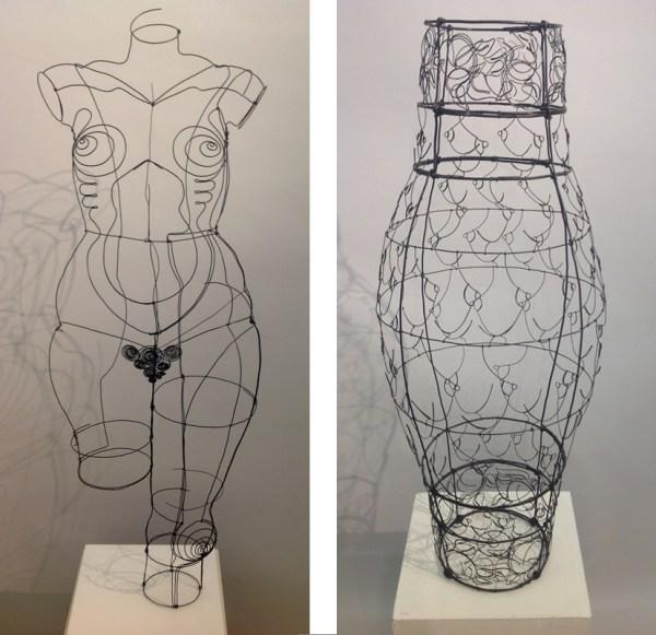 Wire Sculpture Human Figure