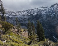The snowy basin is where we will spend the night