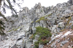 Studying the granite formations