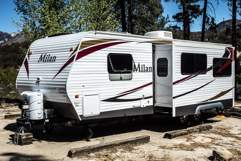 A History of Repairs to Our Milan Travel Trailer | PopUpBackpacker