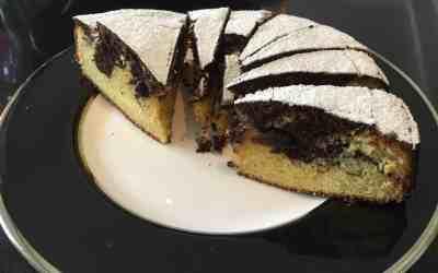 Chocolate & Almond Marble Cake