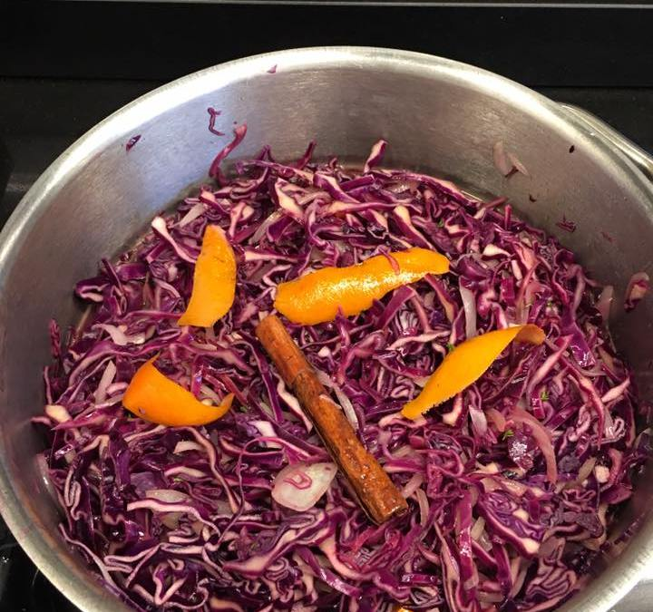 Protected: Spiced Red Cabbage, Glazed Carrots & Sprouts.