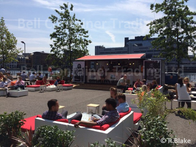 Container cafe  bars popup shipping container venues
