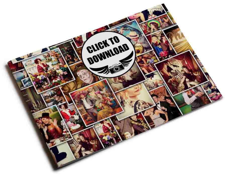 PopUp Photo Parlour brochure