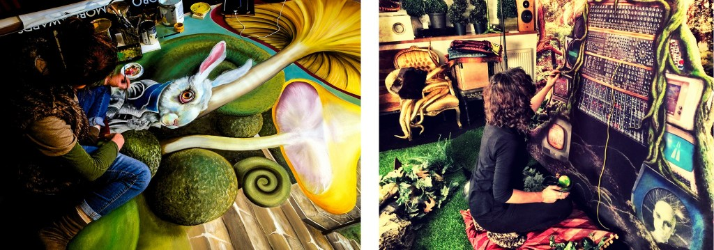 Handpainted Backdrops I PopUp Photo Parlour