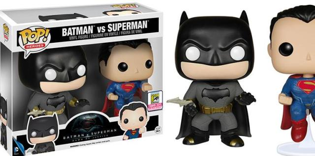 Batman vs Superman new funko pops 2016