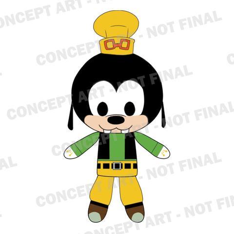 #Kingdom Hearts #Funko #Goofy #Plush #toy fair 2017