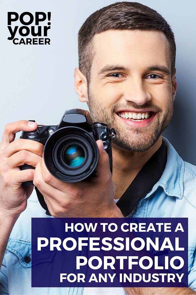 Create a professional portfolio to impress potential employers and develop your personal brand. Use these tips and tricks to secure your dream position! ~ Pop Your Career