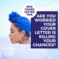 Is your cover letter up to scratch? I mean, is it really? If you aren't sure, you better get into this post and see for yourself – stat! : Are you worried your cover letter is killing your chances? – Pop Your Career