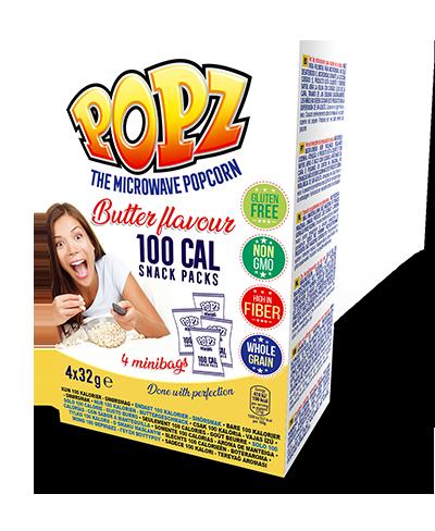 100cal Butter 3pk Popz Simply The Best Popcorn Popz