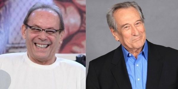 Atores José Wilker e Paulo Goulart viram nomes de avenidas no Rio