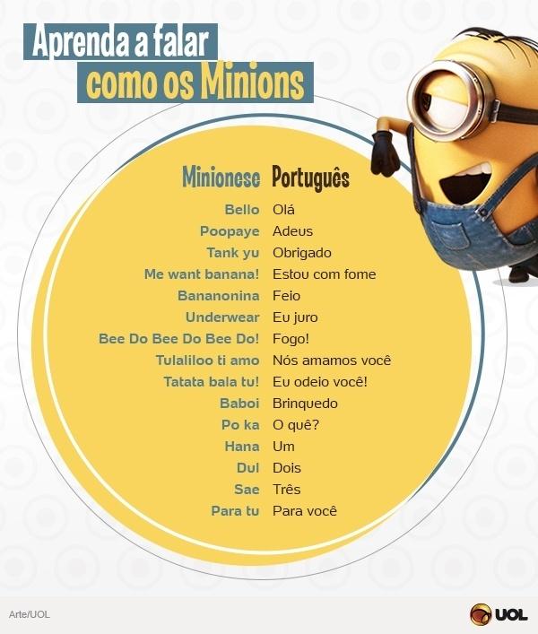Saiba mais sobre o Minionese, dialeto que ninguém entende e todo mundo ama