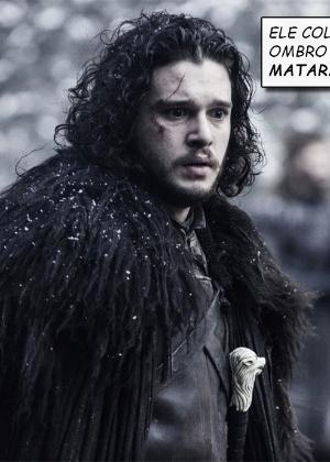 """Ator que faz Jon Snow visita local das filmagens de """"Game of Thrones"""""""