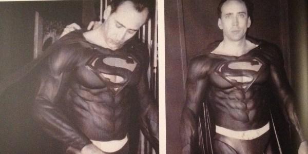 """""""Eu acreditava naquele filme"""", diz Nicolas Cage sobre """"Superman Lives"""""""
