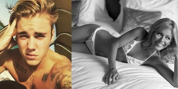 Justin Bieber posta foto sexy e se declara para apresentadora de 44 anos