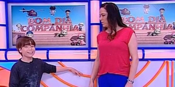 """Matheus volta ao """"Bom Dia e Cia"""" e Silvia Abravanel se despede do programa"""