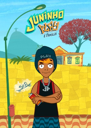 Samantha Schmütz lança desenho de Juninho Play na internet