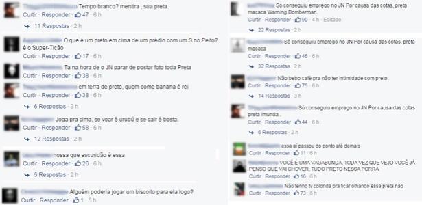 """Maria Julia Coutinho é alvo de racismo na página do """"JN"""" no Facebook"""