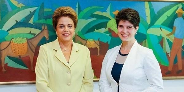 Assim como Jô Soares, Mariana Godoy entrevista Dilma no Palácio da Alvorada