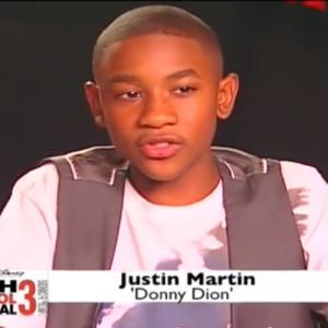 """Justin Martin, ator de """"High School Musical 3"""", é preso nos EUA, diz site"""