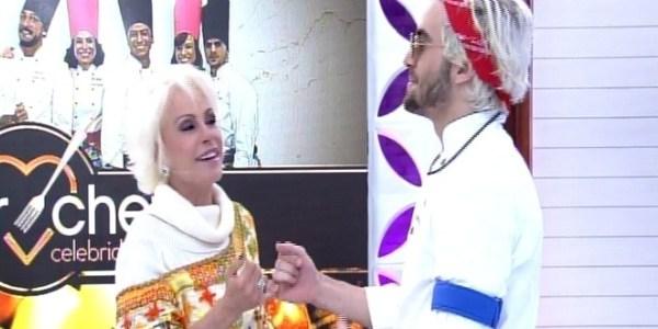 """Ana Maria Braga e Fiuk fazem as pazes no """"Mais Você"""""""