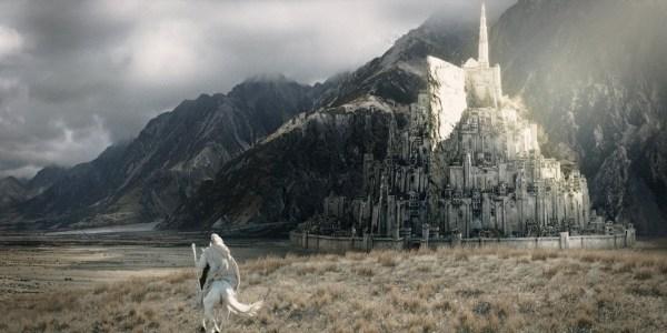 Arquitetos britânicos querem fazer réplica em tamanho real de Minas Tirith