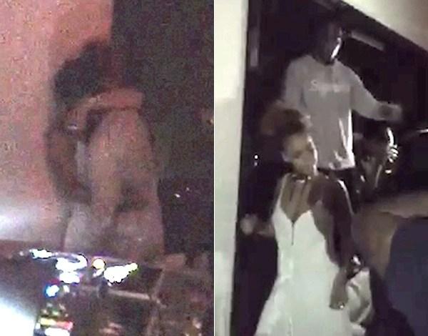 Rihanna é vista aos beijos com rapper em Nova York