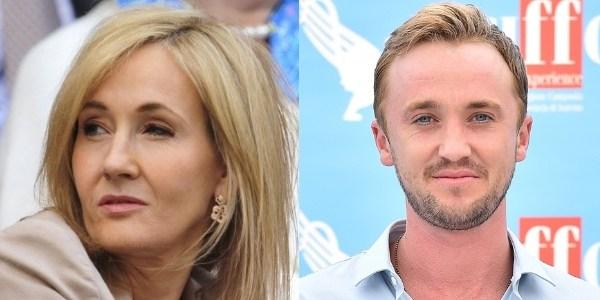 """J.K. Rowling parabeniza ator de """"Harry Potter"""" pelos seus 28 anos"""