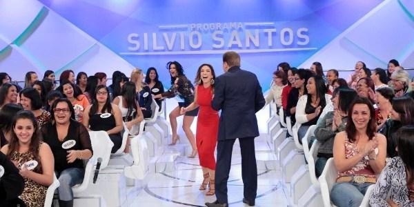 """""""Você veio da Congregação? Está horrível"""", diz Silvio Santos para a filha"""