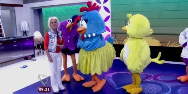 """Sem programa infantil, Globo leva Galinha Pintadinha ao """"Mais Você"""""""
