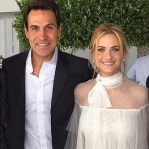 Luiza Valdetaro se casa com o empresário Mariano Ferraz no Rio de Janeiro
