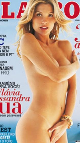 O arrasador ensaio de estreia de Flavia Alessandra