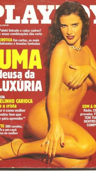 Luuuuumaaaa de Oliveira é a estrela maior da história de Playboy no Brasil