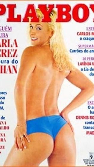 Carla Perez inaugurou a fase das musas do rebolado