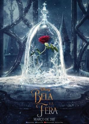"""Live-action de """"A Bela e a Fera"""" com Emma Watson ganha seu primeiro pôster"""