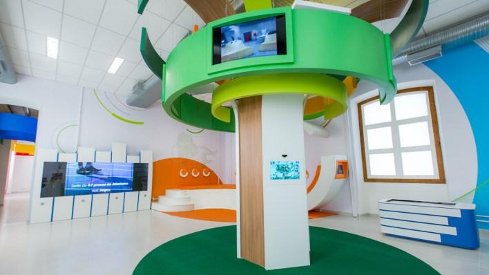 Espaço conta com atividade interativas para visitantes