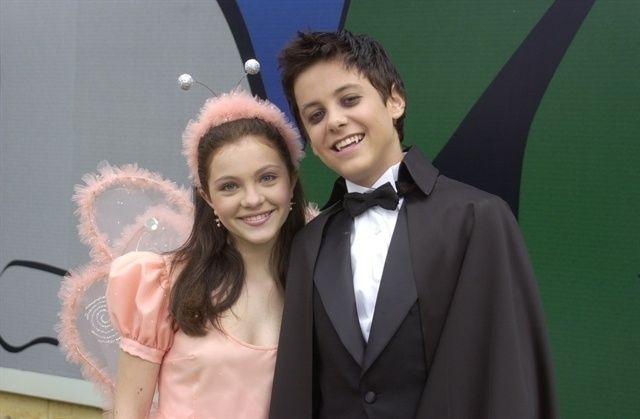 """O primeiro beijo da atriz foi em Kayky Brito na novela """"O Beijo do Vampiro"""" (Divulgação/Globo)"""